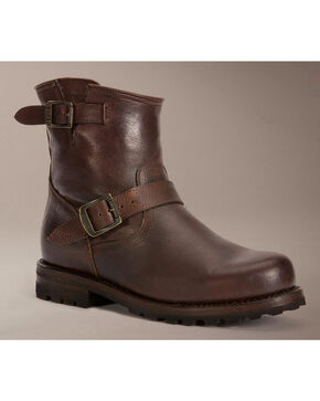 Frye Warren Engineer Boots, Brown, hi-res