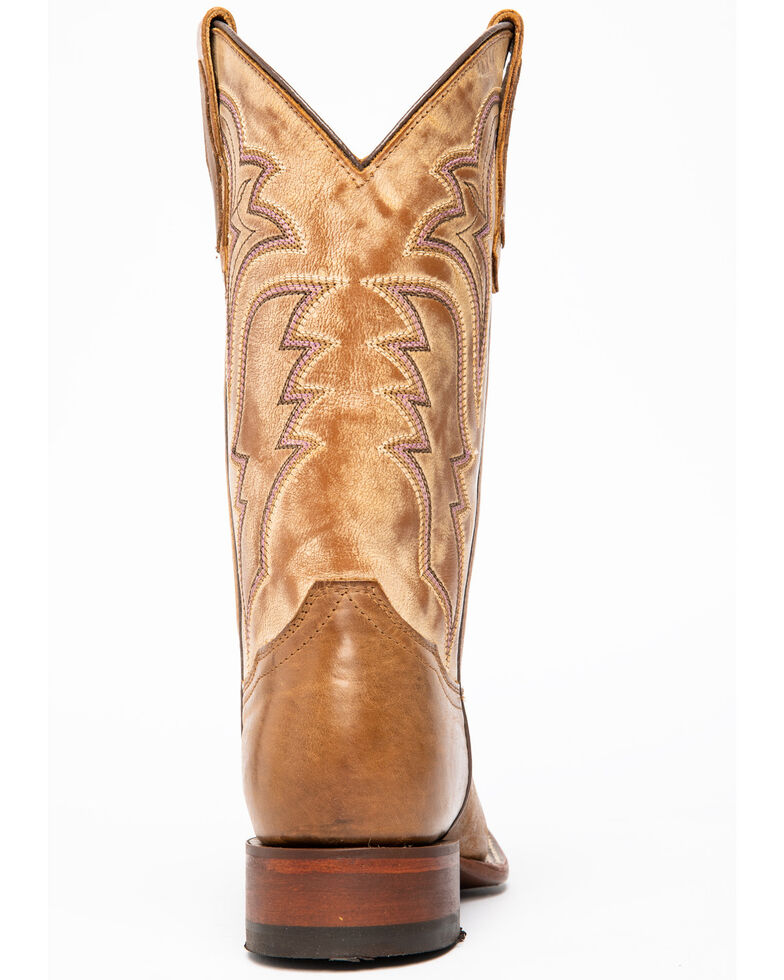 Shyanne Women's Manchester Western Boots - Square Toe, Brown, hi-res