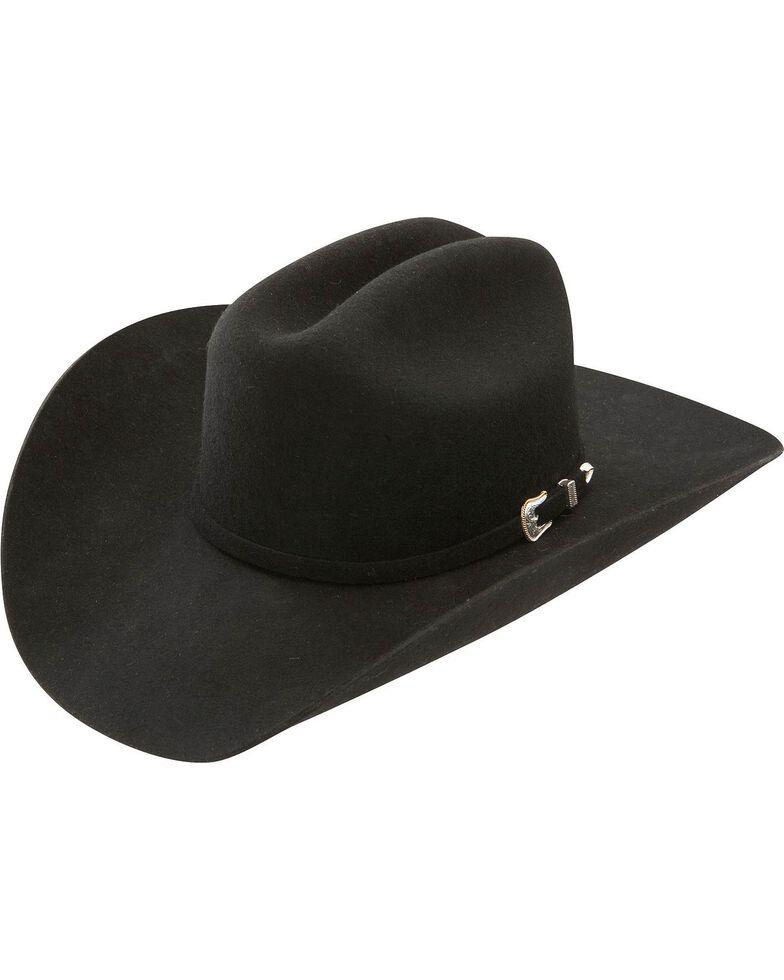 6c45d3c9 Zoomed Image Stetson Oak Ridge 2X Wool Felt Hat, Black, hi-res