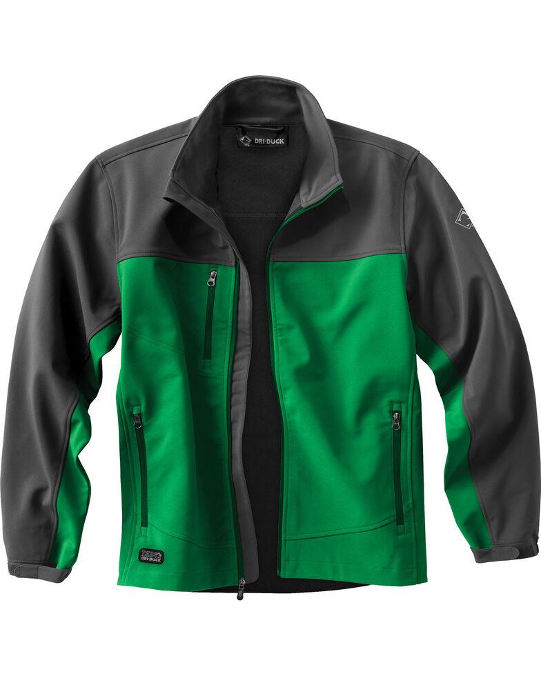 Dri Duck Men's Motion Softshell Jacket - Big & Tall, Leaf, hi-res