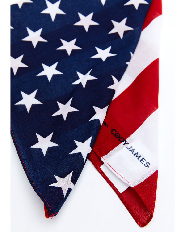 Cody James Men's Americana Flag Bandana Facemasks, Multi, hi-res