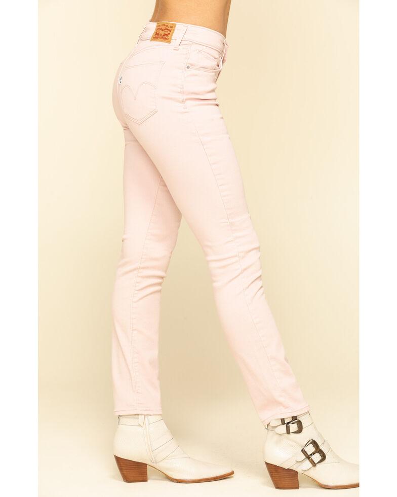 Levi's Women's Mid Rise Skinny Jeans, Blush, hi-res