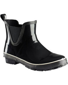 Baffin Women's Marsh Series Pond Mid Boots - Round Toe, Black, hi-res