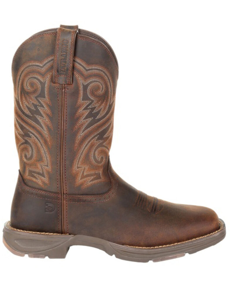 Durango Men's Ultralite Distressed Brown Western Boots - Square Toe, Distressed Brown, hi-res