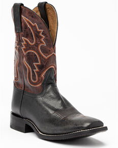 Cody James Men's Black Western Boots - Square Toe, Black, hi-res