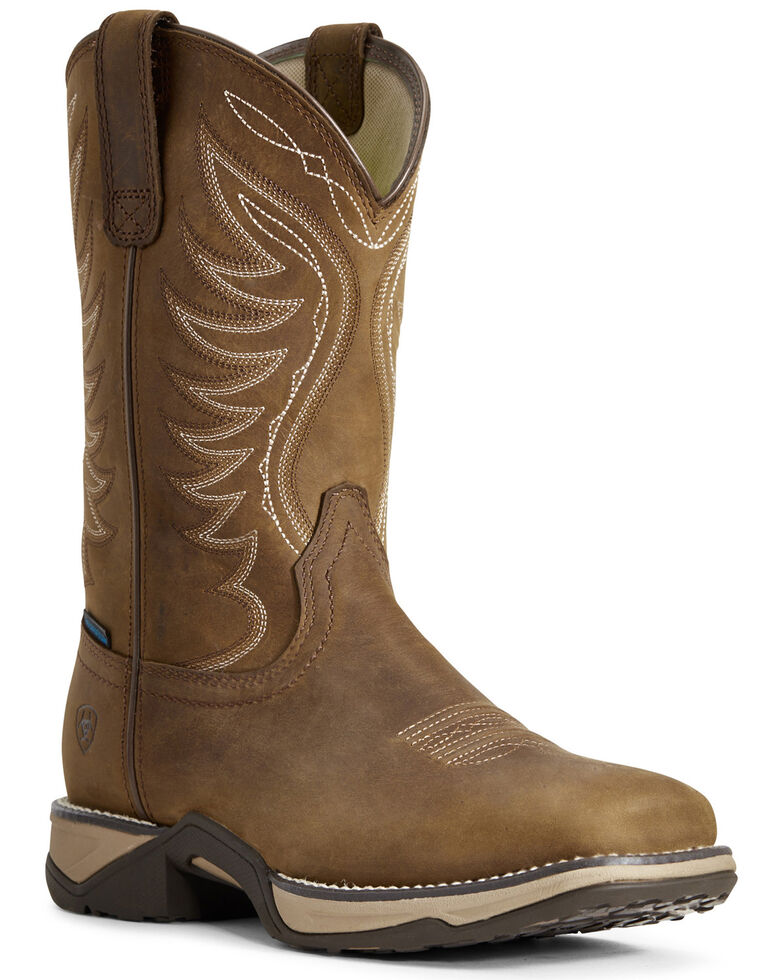 Ariat Women's Anthem Waterproof Western Boots - Square Toe, , hi-res