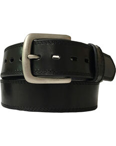 Berne Men's Oily Pull Up Leather Belt , Black, hi-res