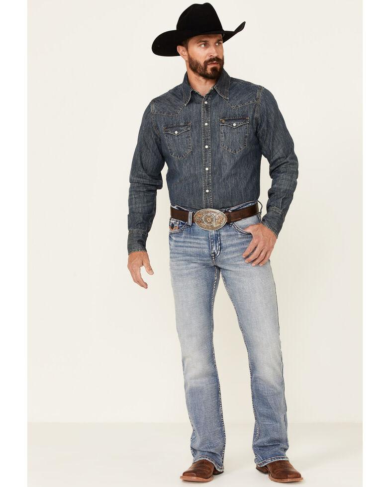 Cody James Core Men's Holt Medium Wash Stretch Slim Bootcut Jeans , Blue, hi-res