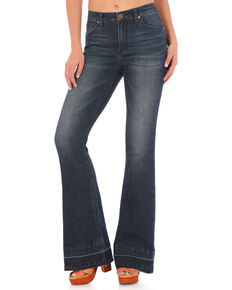 Wrangler Women's Retro Mae High Rise Flare Jeans, , hi-res