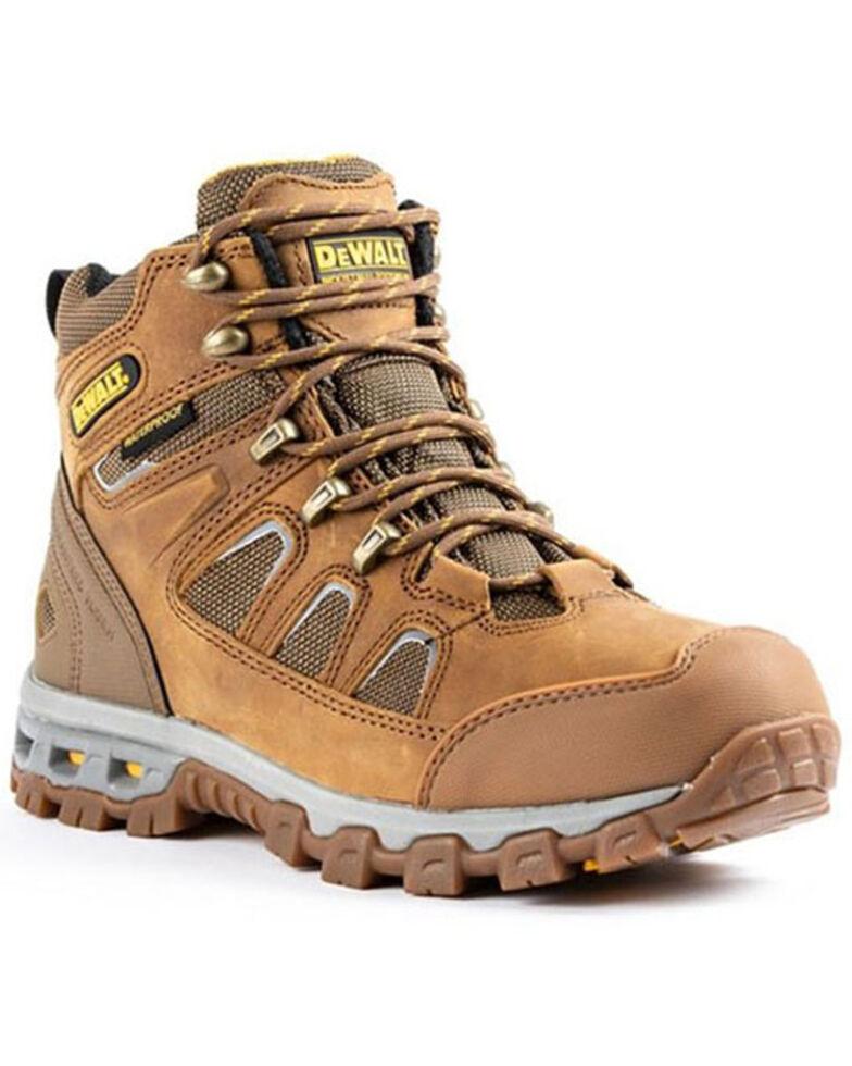 DeWalt Men's Grader Waterproof Work Boots - Soft Toe, Wheat, hi-res