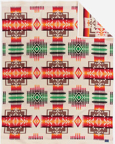 Pendleton Chief Joseph Blanket, Ivory, hi-res