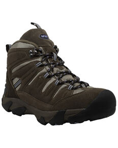Ad Tec Women's Waterproof Work Boots - Composite Toe, Brown, hi-res