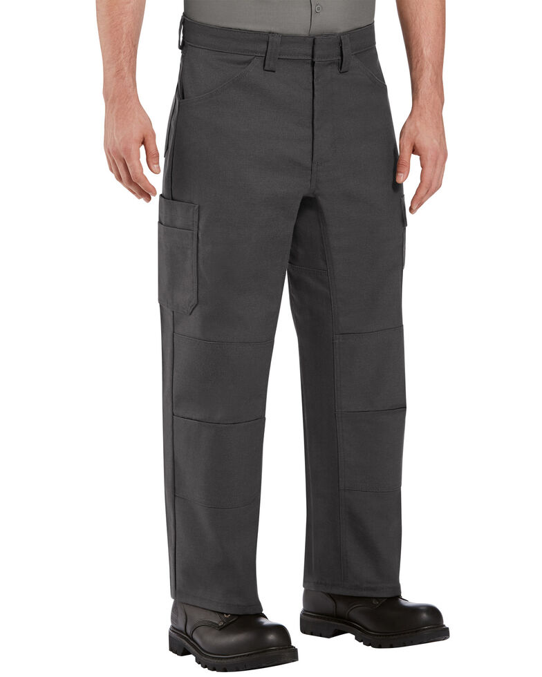 Red Kap Men's Charcoal Grey Performance Shop Work Pants , Charcoal Grey, hi-res