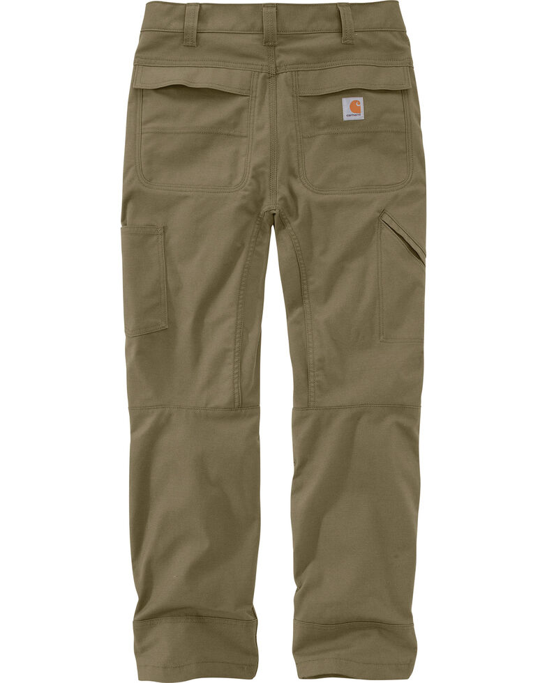 Carhartt Men's Full Swing Cryder Dungarees 2.0 Straight Work Pants , Olive, hi-res