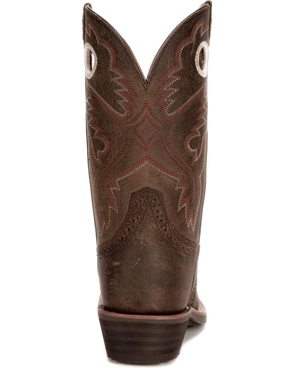Ariat Women's Heritage Rough Stock Western Boots, Antique Brown, hi-res