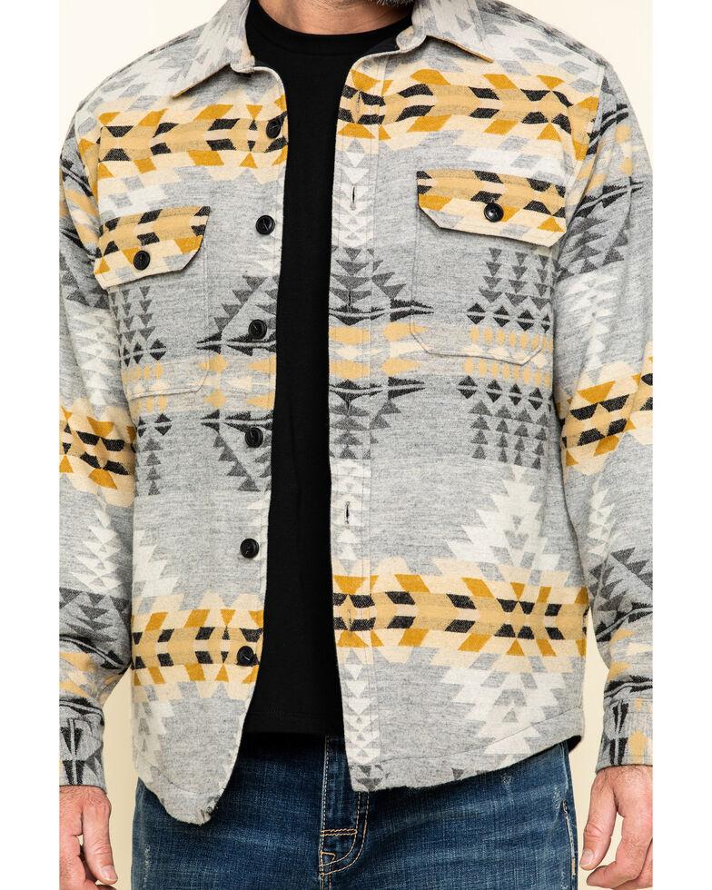 Pendleton Men's Grey Rancho Arroyo Aztec Quilted Shirt Jacket , Grey, hi-res