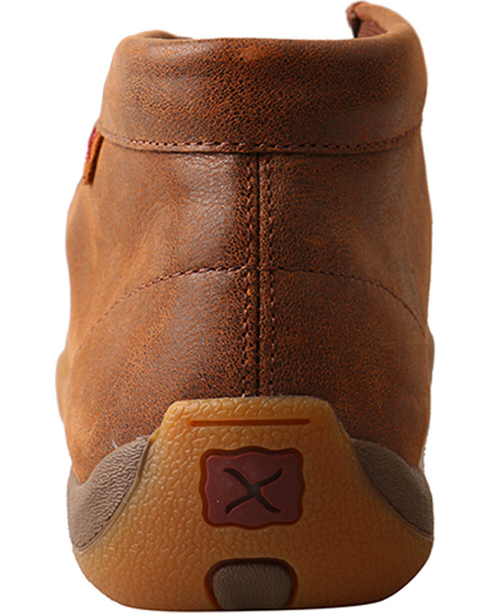 Twisted X Women's Brown Driving Moc Shoes - Moc Toe , Brown, hi-res