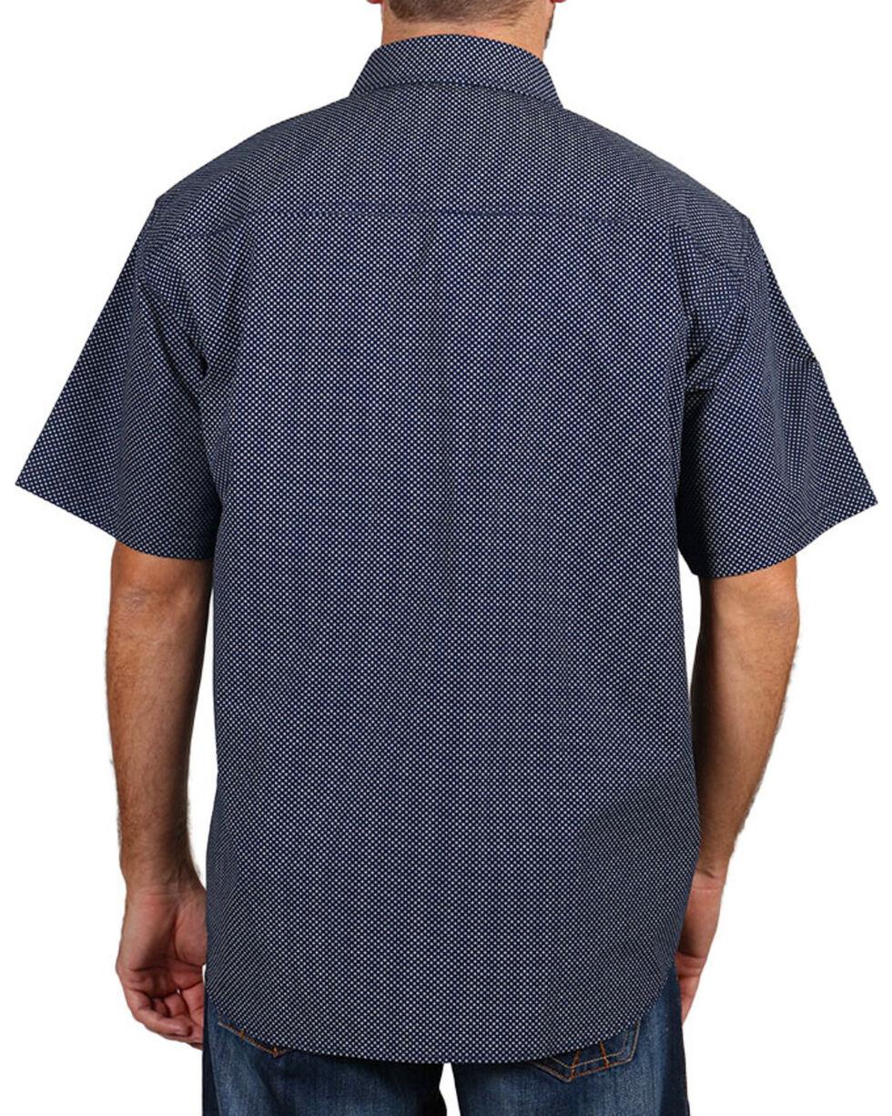Cody James® Men's Textured Short Sleeve shirt , Navy, hi-res
