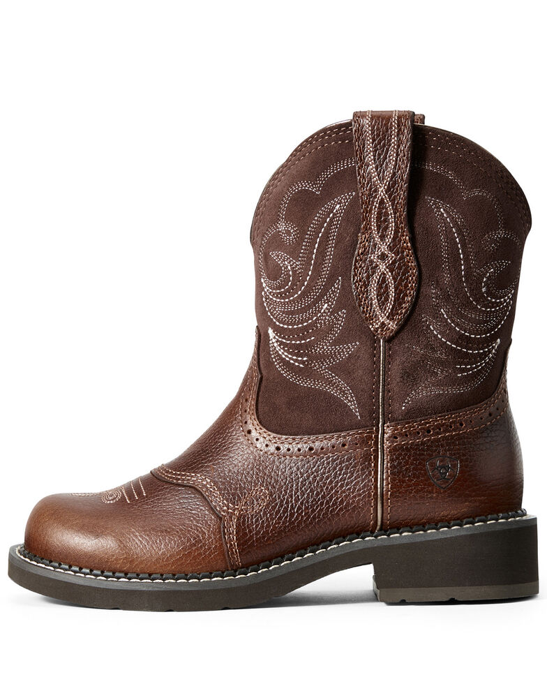 Ariat Women's Heritage Dapper Western Boots - Round Toe, Brown, hi-res