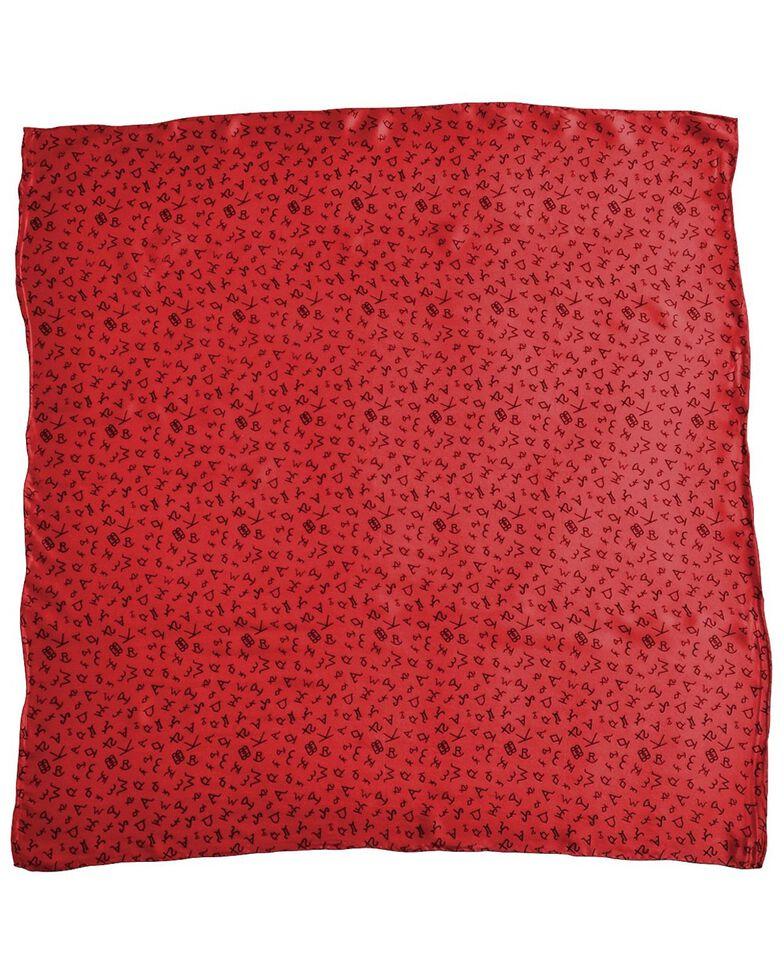 M&F Branded Silk Wild Rag, Red, hi-res