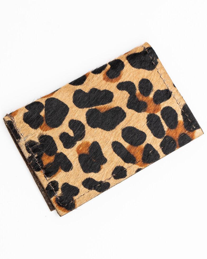 Keep It Gypsy Women's Leopard Credit Card Holder, Leopard, hi-res