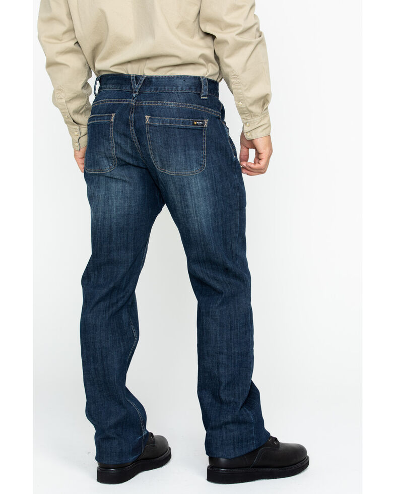 Hawx Men's Denim Stretch Work Jeans , Indigo, hi-res