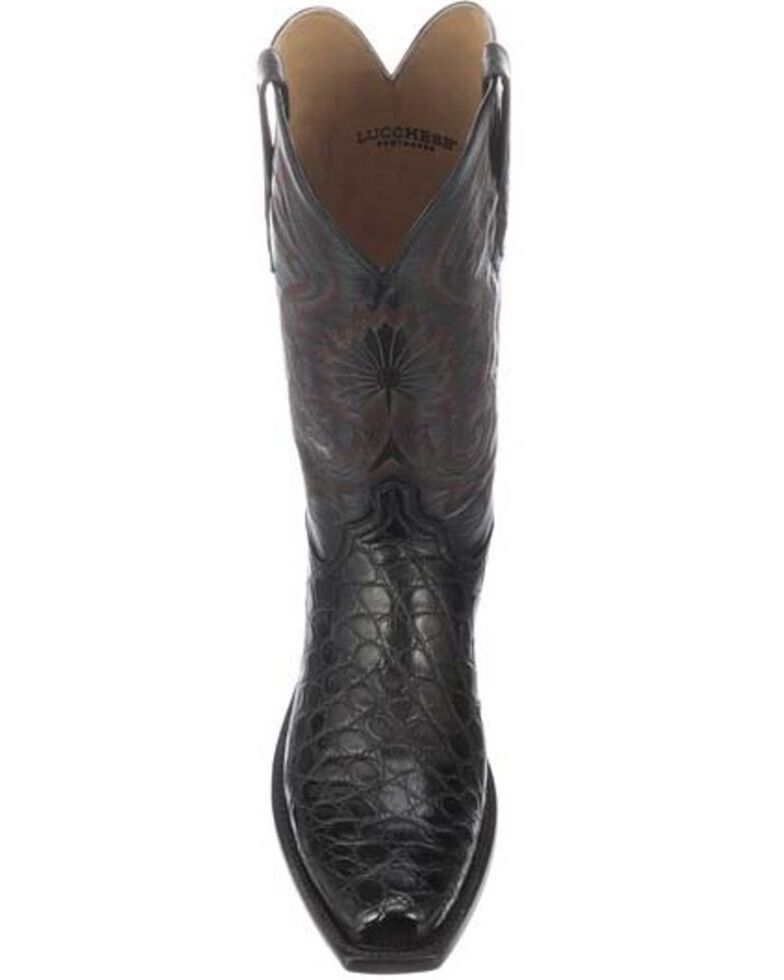 b053bb61654 Lucchese Men's Rio Exotic Gator Western Boots - Square Toe