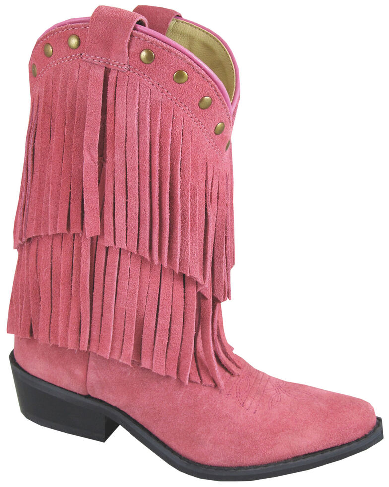 Smoky Mountain Kid's Wisteria Fringe Western Boots, , hi-res