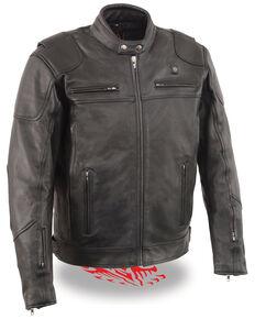 Miller Ranch Men's Heat Vented Scooter Jacket , Black, hi-res