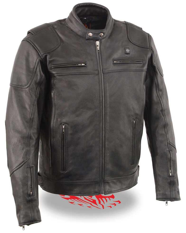 Miller Ranch Men's Heat Vented Scooter Jacket , Black, hi-res