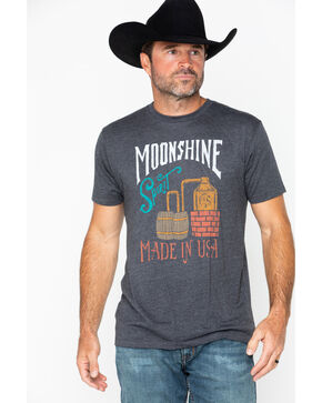 Moonshine Spirit Men's Copper Still Short Sleeve T-Shirt, Charcoal, hi-res