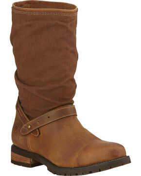 Ariat Women's Chatsworth H2O Boots, Brown, hi-res