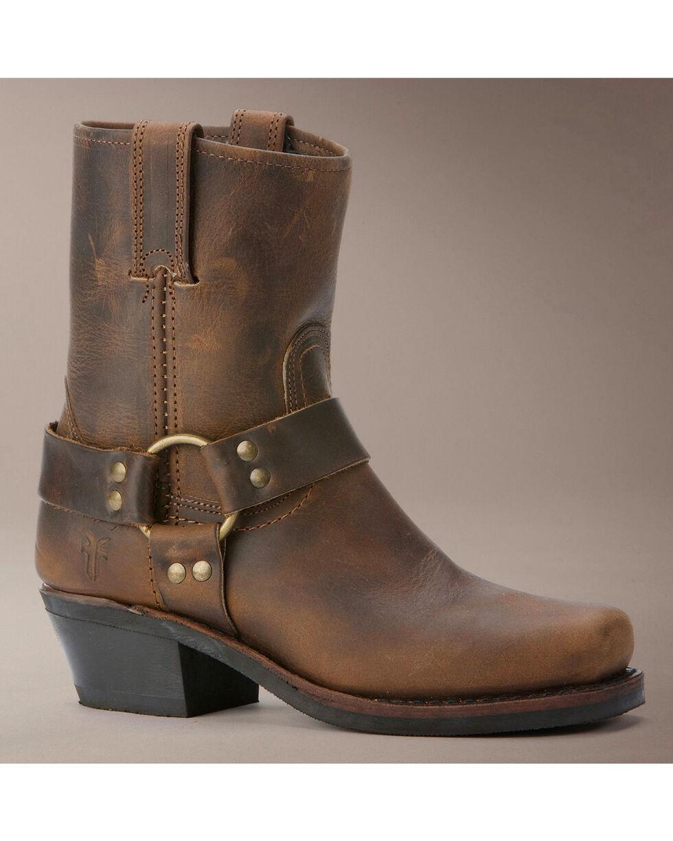 Frye Women's Harness Motorcycle Boots, Tan, hi-res