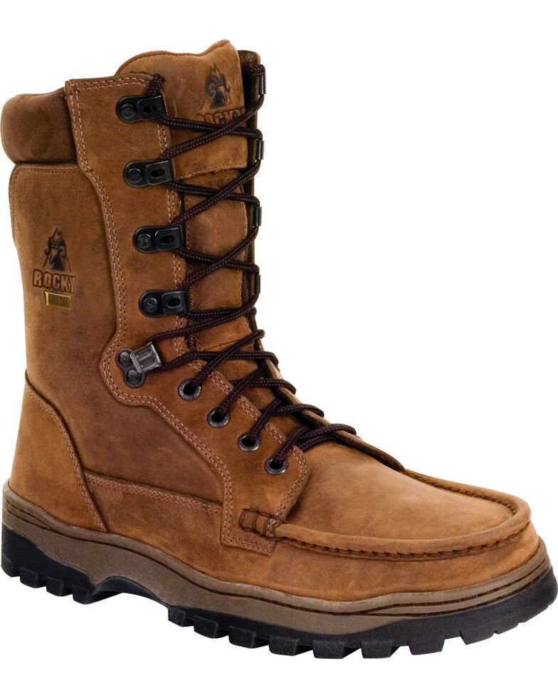 Rocky Men's Outback Boots, Brown, hi-res