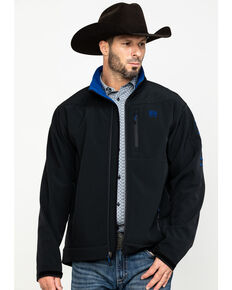 Cinch Men's Black Bonded Jacket , Black, hi-res