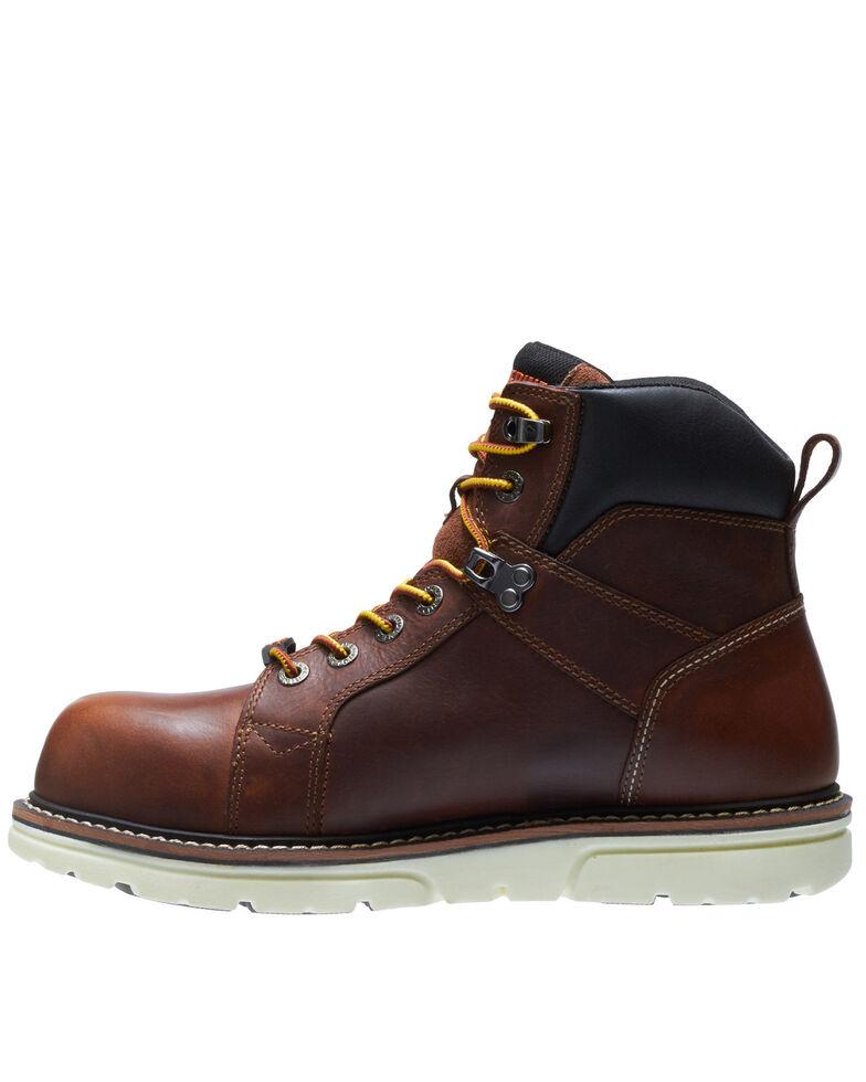 Wolverine Men's I-90 Durashocks Carbonmax Wedge Work Boots - Composite Toe, Tan, hi-res