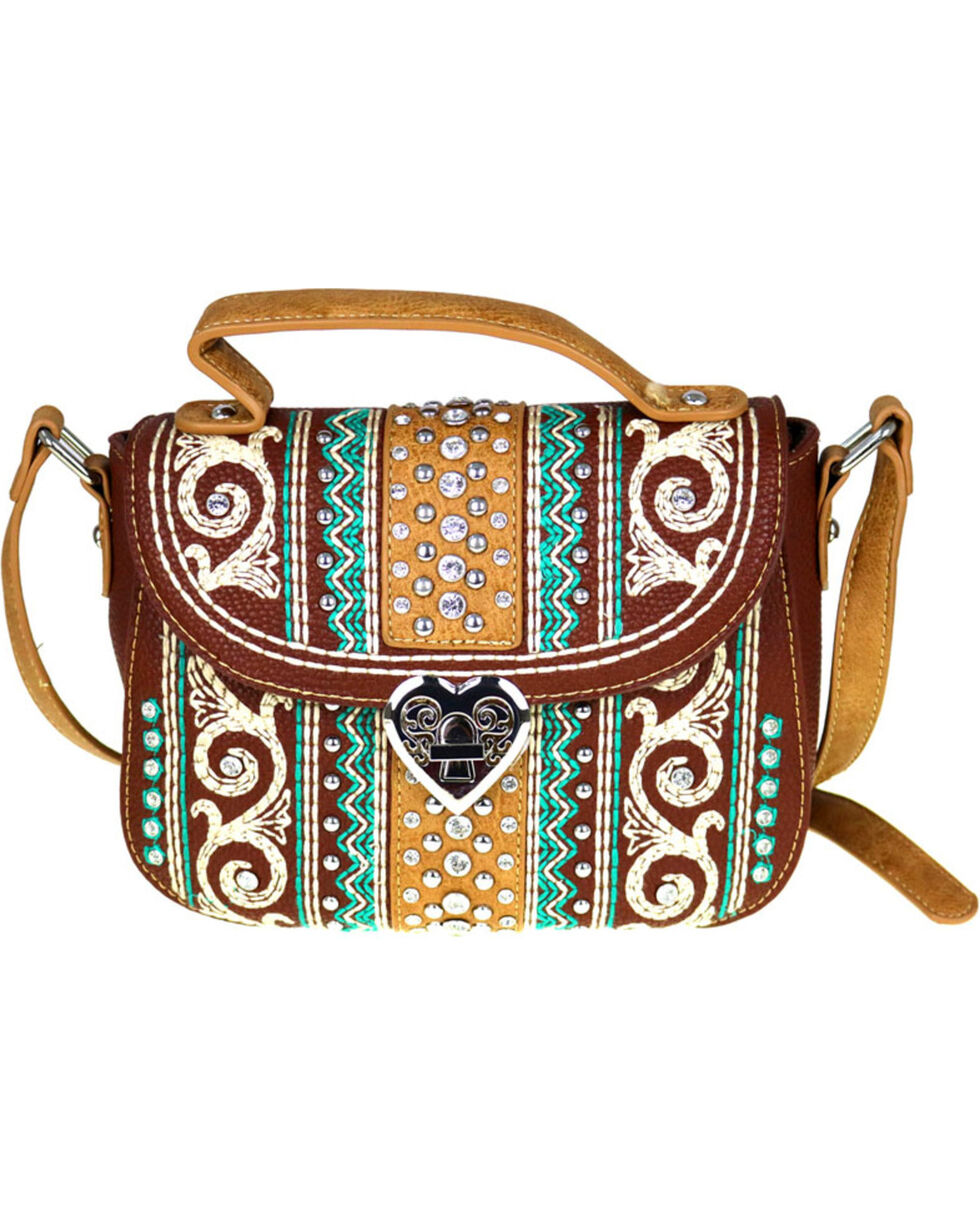 Montana West Women's Bling Bling Collection Crossbody Bag, , hi-res