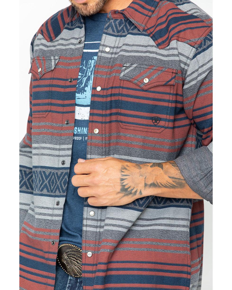 Ariat Men's Granite Waldera Retro Shirt , Grey, hi-res