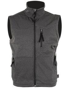 STS Ranchwear Men's Heather Grey Barrier Vest , Heather Grey, hi-res