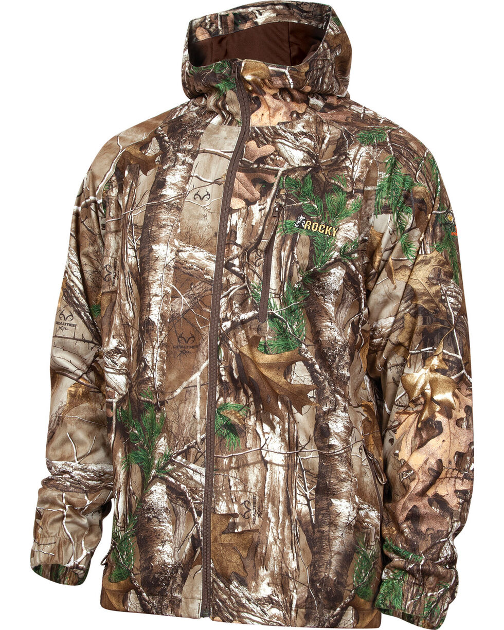 Rocky Men's SilentHunter Rain Jacket, Camouflage, hi-res