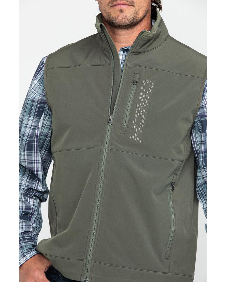 Cinch Men's Olive Wind Proof Bonded Vest , Olive, hi-res