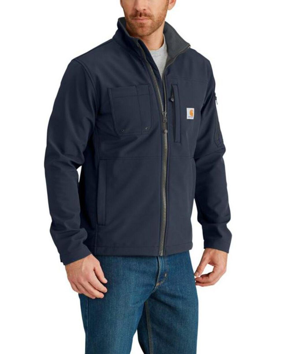 Carhartt Men's Navy Rough Cut Jacket -Tall, Navy, hi-res