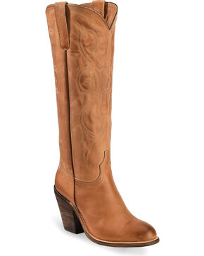 """Lucchese Women's 17"""" Vanessa Western Boots, Tan, hi-res"""