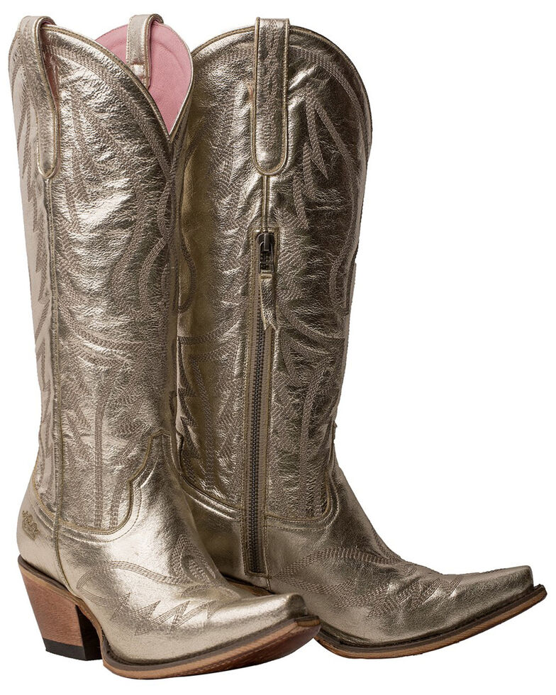 Junk Gypsy by Lane Women's Nighthawk Western Boots - Snip Toe, Silver, hi-res