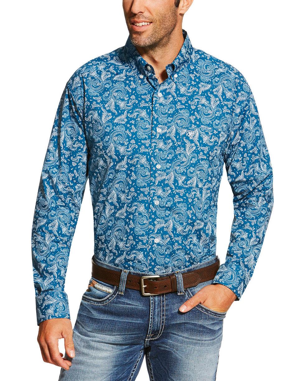 Ariat Men's Printed Long Sleeve Shirt, , hi-res