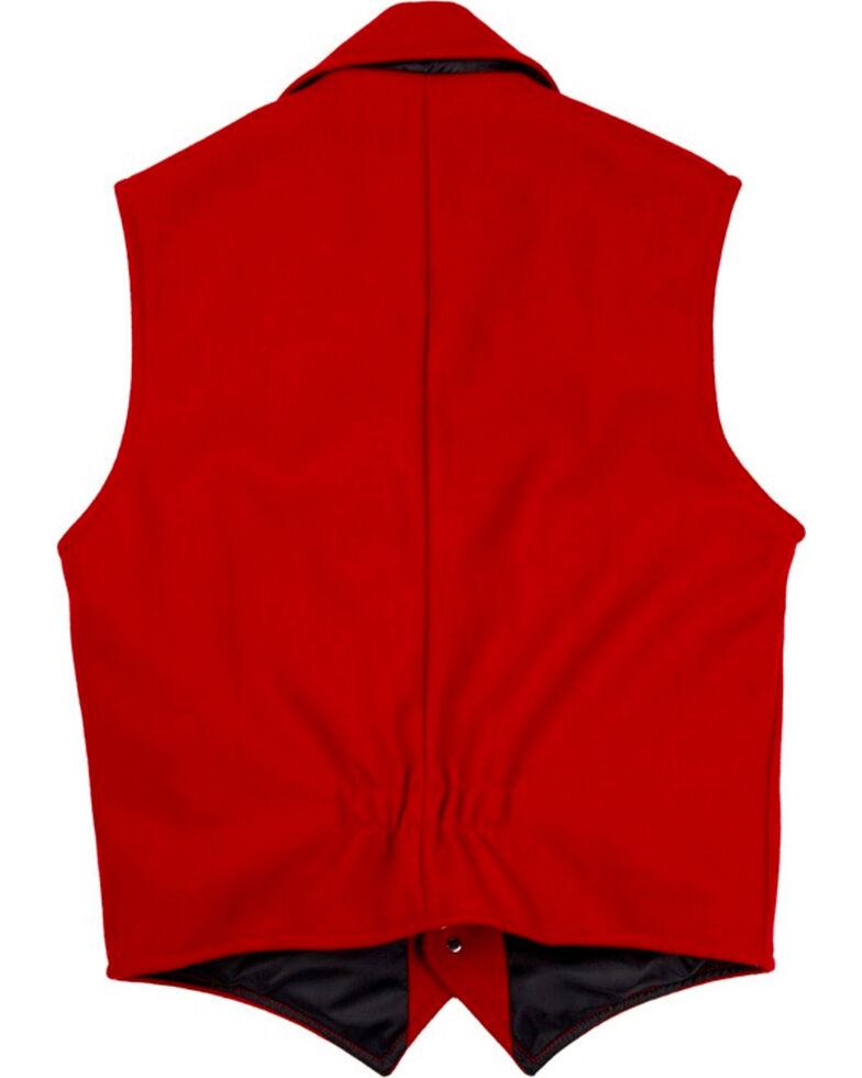 Schaefer Men's 805 Cattle Baron Vest - Big & Tall, Red, hi-res