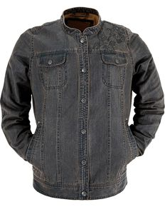 Outback Trading Company Canyonland Palusa Denim Jacket, Brown, hi-res