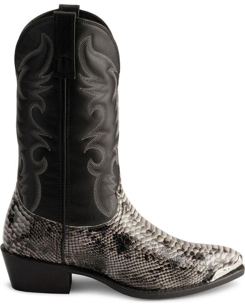 dec9c3b301d Laredo Men's Monty Snake Print Western Boots