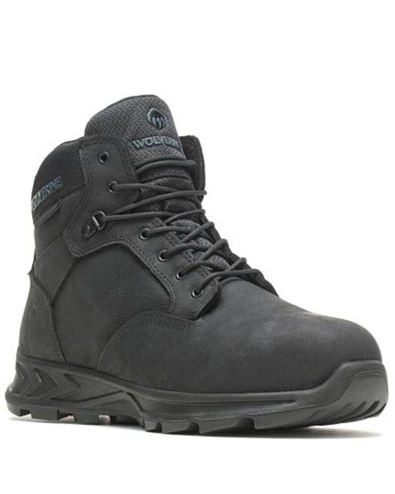 Wolverine Men's Shiftplus LX Work Boots - Alloy Toe, Black, hi-res