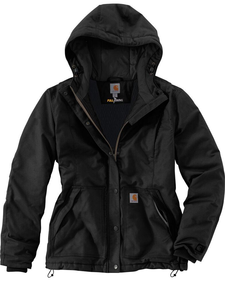 Carhartt Women's Full Swing Cryder Jacket , Black, hi-res
